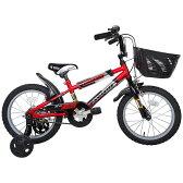 16インチ 子供用自転車 トリックスター2 (レッド)【男の子向け】【送料無料】