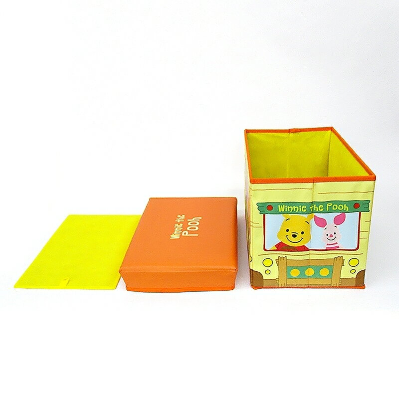 ディズニーキャラクターストレージBOX(プー)
