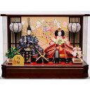 【雛人形】ベビーザらス限定 ケース親王飾り「貝桶と扇桜六角アクリル」【送料無料】