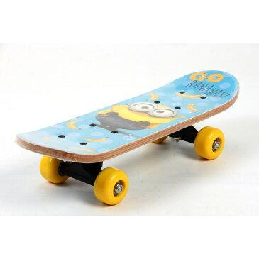 17インチ ミニオンズ ミニスケートボード(水色)