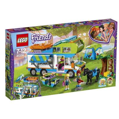 フレンズ ミアのキャンピングカーのレゴ
