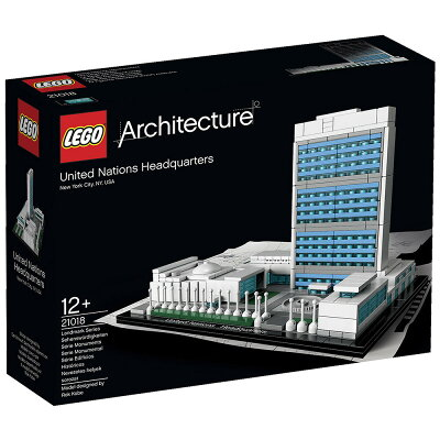 レゴ アーキテクチャー 21018 国際連合本部ビル 【オンライン限定】【送料無料】