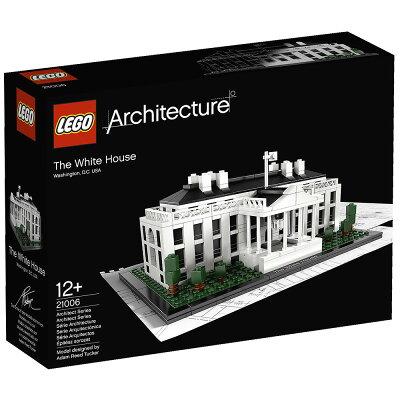 レゴ アーキテクチャー 21006 ホワイトハウス 【オンライン限定】【送料無料】