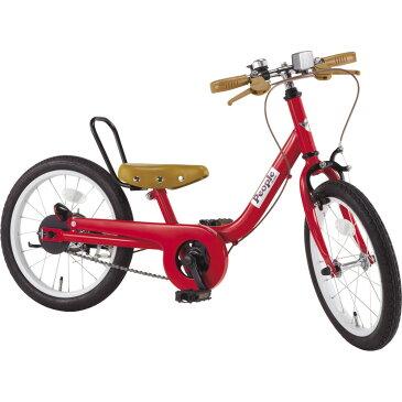 ケッターサイクル 16インチ 子供用自転車 ブルーミングレッド