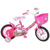 トイザらス限定 14インチ 子供用自転車 ハローキティ 【女の子向け】【送料無料】