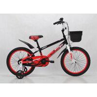 トイザらス限定18インチ子供用自転車KENTヴァージ(ブラックレッド)