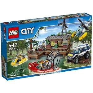 レゴ シティ 60068 沼地のアジト【送料無料】