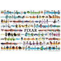 ディズニー1000P世界最小ジグソーパズルディズニー/ピクサーコレクション