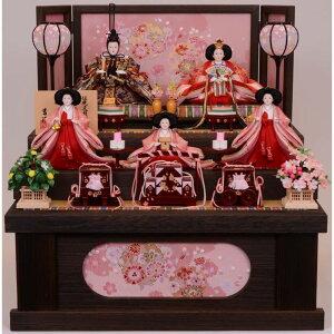 [Хина кукла] Babyza Rasu ограниченное трехуровневое хранение 5 человек украшения Якигири Харука Юкинава Сакура [Бесплатная доставка]