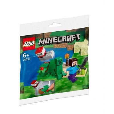 レゴ 30393 マインクラフト スティーブとクリーパー