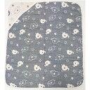 ベビーザらス限定 日本製 6重織ガーゼ おくるみ ゾウ(70cm×80cm)