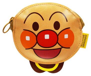 【アンパンマン】【小銭入れ】アンパンマン コインパースアンパンマン【おもちゃ 人気 グッズ キャラクター コインケース 小物入れ 財布 子供 こども ぬいぐるみ ファスナー ポケット 男の子 女の子 入学 入園 プレゼント 遠足 旅行 おままごと 知育 算数】