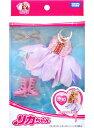 【メール便可】リカちゃん LW-10 オーロラフィギュア【スケート ワンピース お洋服 小物 かわいい 女の子 玩具 セット ファッション おもちゃ タカラトミー 箱 】