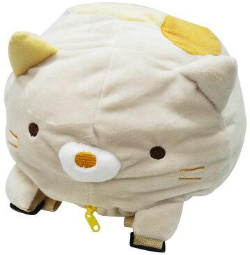 【すみっコぐらし】【リュック】すみっこぐらし ヌイグルミリュックねこ【おもちゃ グッズ キャラクター ぬいぐるみ 鞄 カバン バッグ ネコ 猫 おもしろ雑貨 景品 女の子 プレゼント 誕生日 かわいい】