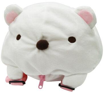【すみっコぐらし】【リュック】すみっこぐらし ヌイグルミリュックしろくま【おもちゃ グッズ キャラクター ぬいぐるみ 鞄 カバン バッグ シロクマ 白熊 おもしろ雑貨 景品 女の子 プレゼント 誕生日 かわいい】