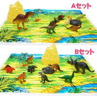 【恐竜】【フィギュア】ディノコレクション3 「2ケースセット」 【おもちゃ グッズ 人形 アニマル 景品 セット 動物園 幼稚園 知育玩具 子ども 子供 おまけ ランチ景品 お子様 ケース ジオラマ ジャングル 男の子 女の子 プレゼント ティラノサウルス】