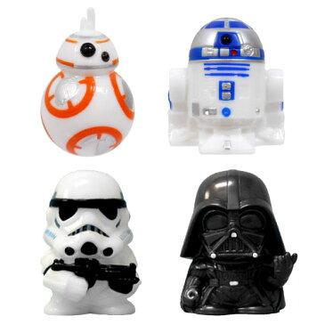 【スターウォーズ】【人形すくい】すくい人形 スター・ウォーズ キャラクターすくい人形4種セット【おもちゃ グッズ 景品 縁日 ソフビ人形 セット ダース・ベイダー R2-D2 BB-8 ストームトルーパー クリスマスケーキ デコレーションケーキ 飾り付け】