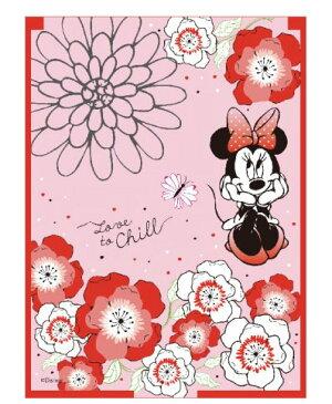 【メール便可】折りたたみミラー ミニー(フラワー) 単品販売【 グッズ キャラクター 鏡 Disney ディズニー ミニーマウス 】