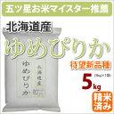 北海道産【ゆめぴりか】5kg産【新生活】