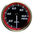 ■Defi Racer Gauge N2 レッド 【DF16203】圧力計 Φ52 0〜1000kPa