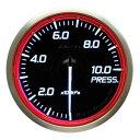 ■Defi Racer Gauge N2 レッド 【DF16803】圧力計 Φ60 0〜1000kPa