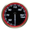 ■Defi Racer Gauge N2 レッド 【DF16903】温度計 Φ60 30〜150℃