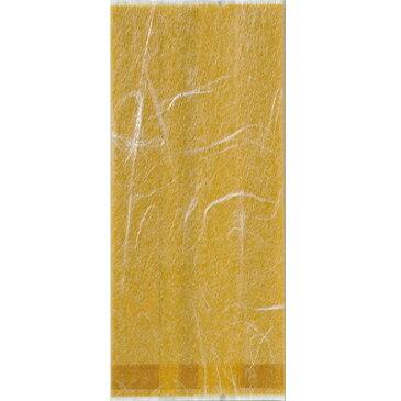福助工業 合掌ガゼット袋 GU(雲龍タイプ) No.20黄土(小ロット1,000枚:100枚×10袋)