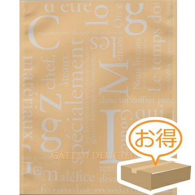 福助工業 カマス袋 GT(透明タイプ) No.3洋柄クリーム(1ケース4000枚)