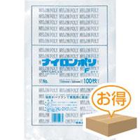 福助工業 ナイロンポリ袋 F No.19(1ケース2,400枚)