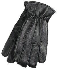 LanglitzLeathers×Churchill Glove [-All Seasons- BLACK GOATxBLACK DEER size.S,M,L,XL]