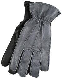 LanglitzLeathers×Churchill Glove [-All Seasons- GRAY GOATxBLACK DEER size.S,M,L,XL]