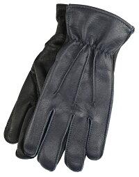 LanglitzLeathers×Churchill Glove [-All Seasons- NAVY GOATxBLACK DEER size.S,M,L,XL]