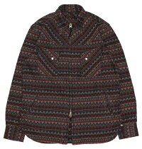 WESTRIDE [-CYCLE ZIP WESTERN JACKET- RUG size.36,38,40,42,44]