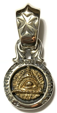 B.W.L×Jeff Decker [-Silver Base w/Bronze Pyramid Maltese Cross Bail #1 Bail(#05,#06,#07)-]