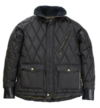 WESTRIDE [-ALL NEW RACING DOWN JACKET TYPE 2 with WIND GUARD:RELAX FIT- BLK size.XS,S,M,L,XL,XXL]