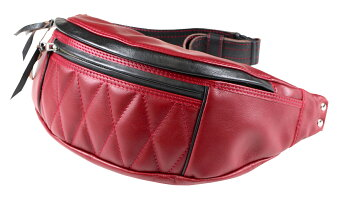 WEST RIDE [-LIMITED RIDING WAIST BAG- RED]