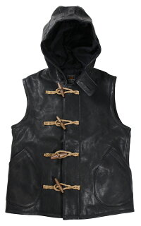"JELADO [""Duffle Vest"" BASIC COLLECTION CT41512 BLACK(DEER SKIN) size.XS,S,M,L,XL]"