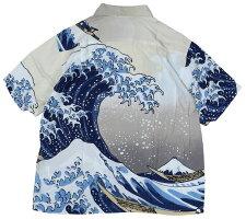 """SUN SURF [-葛飾北斎- SPECIAL EDITION """"神奈川沖浪裏"""" OFF size.S,M,L,XL,XXL]"""