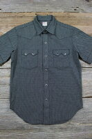 "JELADO [""S/S Western Shirts"" BASIC COLLECTION SG32103 Black size.S,M,L,XL]"