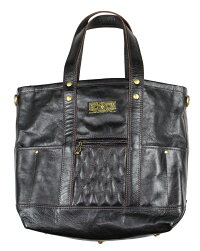WEST RIDE [-PADDED TOTE BAG- BLK.H]