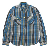 """JELADO [""""Unionworkers Shirts"""" STANDARD COLLECTION #JP42133 OLD BLUE size.XS,S,M,L,XL]"""