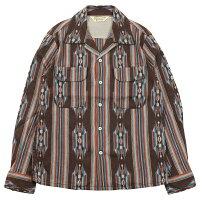 "JELADO [""Westcoast shirt"" BASIC COLLECTION SG51103 BROWN size.13,14,15,16,17]"