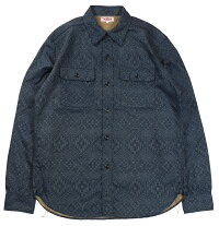 "JELADO [""Union Workers Shirt"" BASIC COLLECTION #JP51109 NAVY size.XS,S,M,L,XL]"