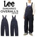 LEE リー LM7254 定番 デニム オーバーオール ワーク仕様 DUNGAREES メンズ ボトムス 日本製 1100 インディゴブルー