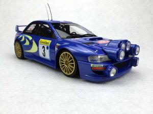 【予約】7月以降発売予定Subaru Imprezaスバルインプレッサ S4 WRC MC Rally 1998 /Top Marques 1/18 レジンミニカー