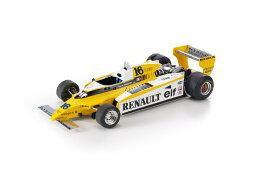 【予約】12月以降発売予定Renault RE20 Turbo Arnoux /GP Replicas 1/18 ミニカー