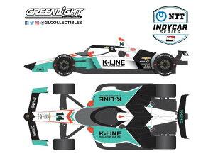 【予約】8月以降発売予定2020 #14 Dalton Kellett/A.J. Foyt Enterprises NTT IndyCar Series /Greenlight 1/18 ミニカー