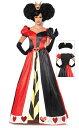 仮装コスチューム ハロウィン不思議の国のアリス ハートの女王 大人用コスチューム デラック...