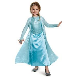 e54cbe51af08a 『アナと雪の女王』エルサのドレスコスチューム(子供用) ハロウィンコスチューム コスプレ (仮装、パーティー、舞台、演劇、ハロウィン)キッズ 女の子  子供用 『アナ ...