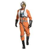 『スター・ウォーズ』Xウイング戦士のコスチューム大人用5点セット コスプレ衣装 (二次会、結婚式、仮装、パーティー、宴会、ハロウィン)大人男性用 送料無料
